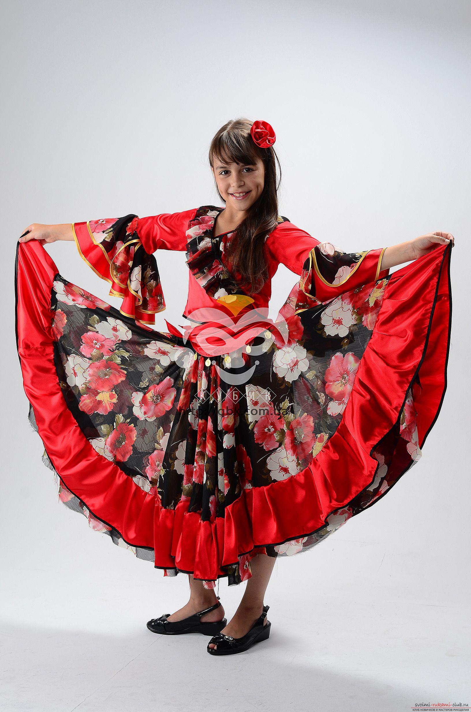 костюм новогодняя цыганка