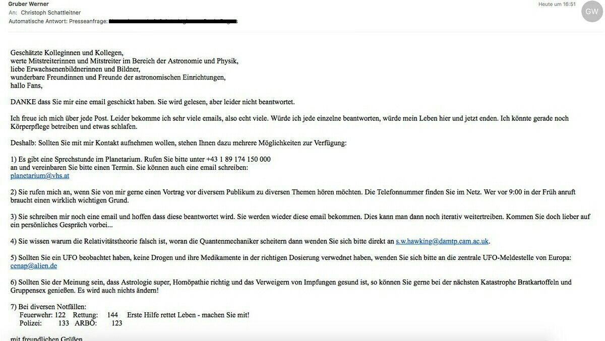Gruber Automatische Email Antwort Vorstellungsgesprach Fragen Antwort Vorstellungsgesprach
