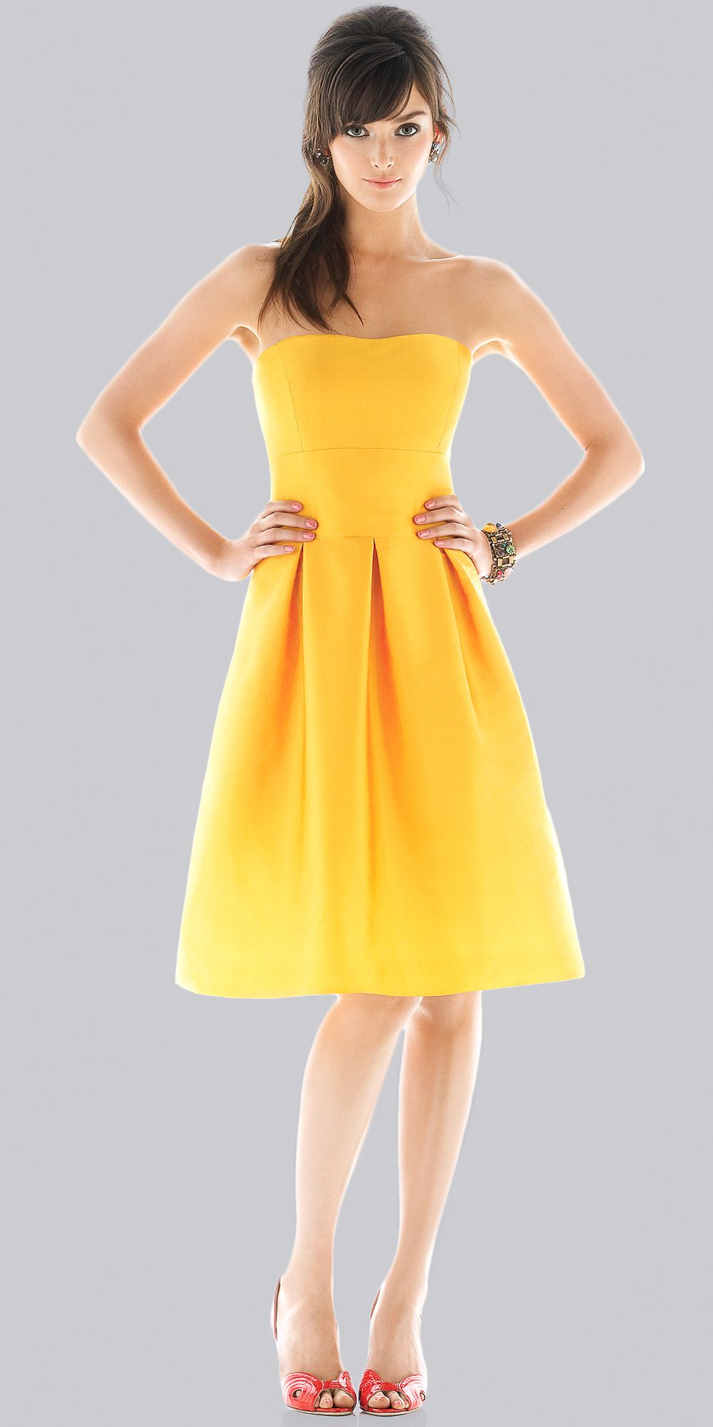 Bright yellow dress ll cool j wedding pinterest yellow dress