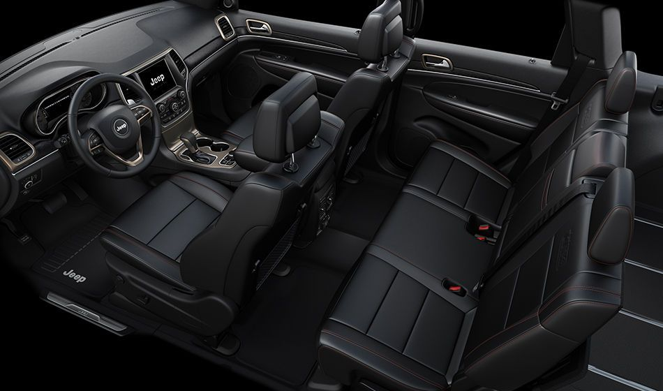 2016 Jeep Grand Cherokee - Premium Interior Features | Jeep Forever ...