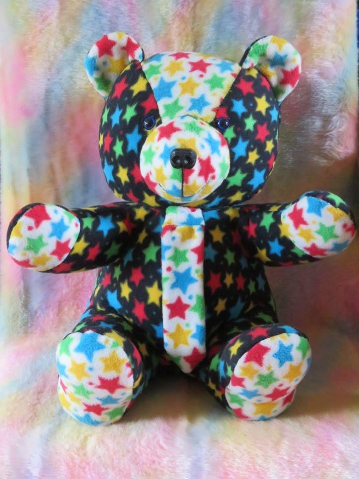 Teddy Bear Tutorial and Pattern | Socken tiere, Spielzeug und Nähen