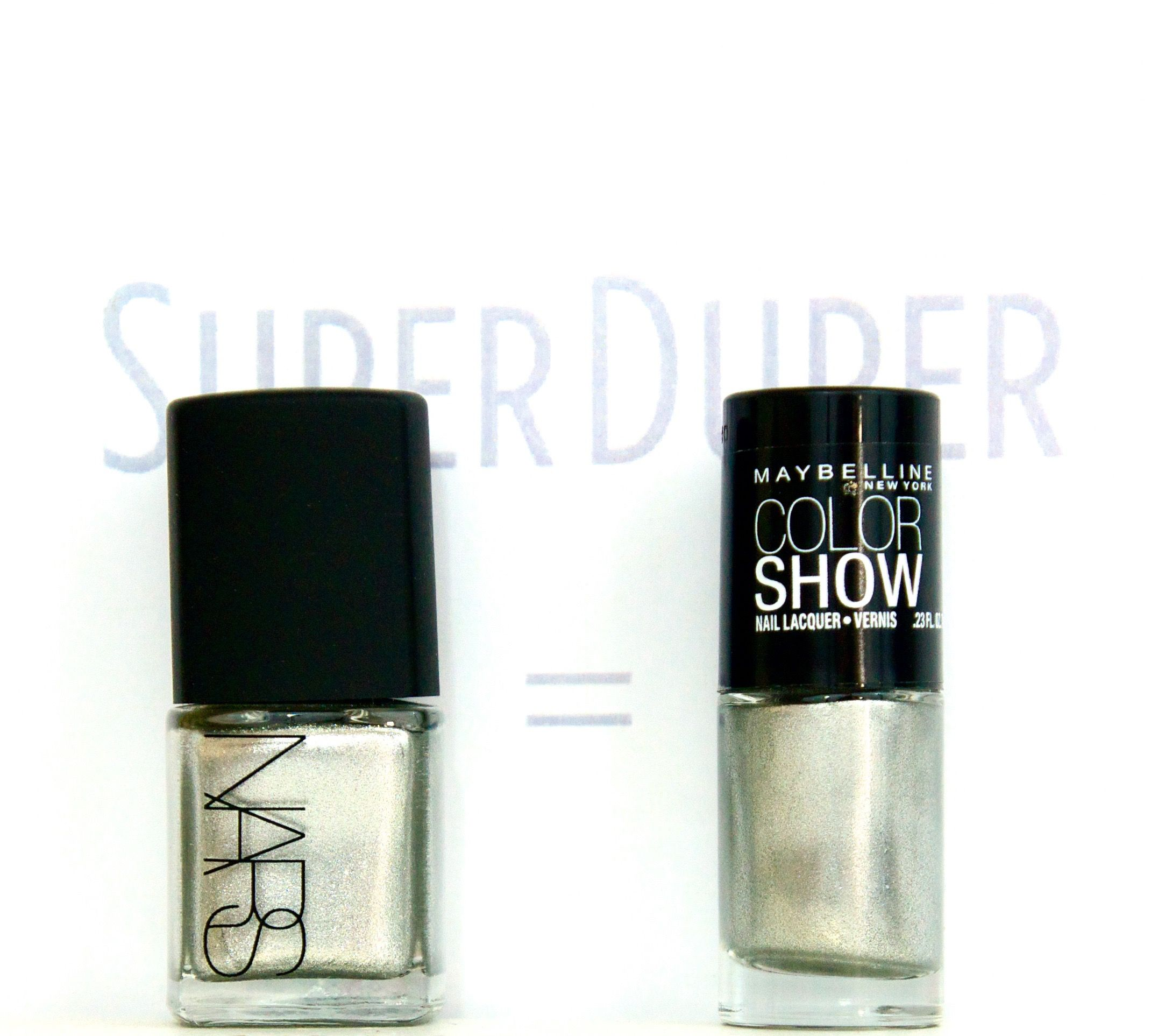 I found this on the SuperDuper app: NARS Space Odyssey = Maybelline ...