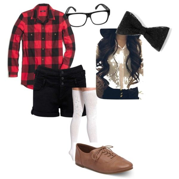 Cute Girly Nerd Costume  Nerd Outfits, Cute Nerd Outfits -7433