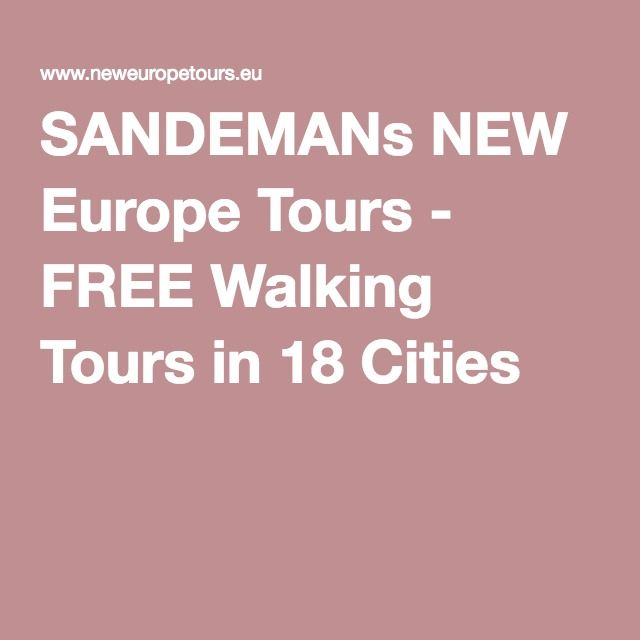 SANDEMANs NEW Europe Tours - FREE Walking Tours in 18 Cities