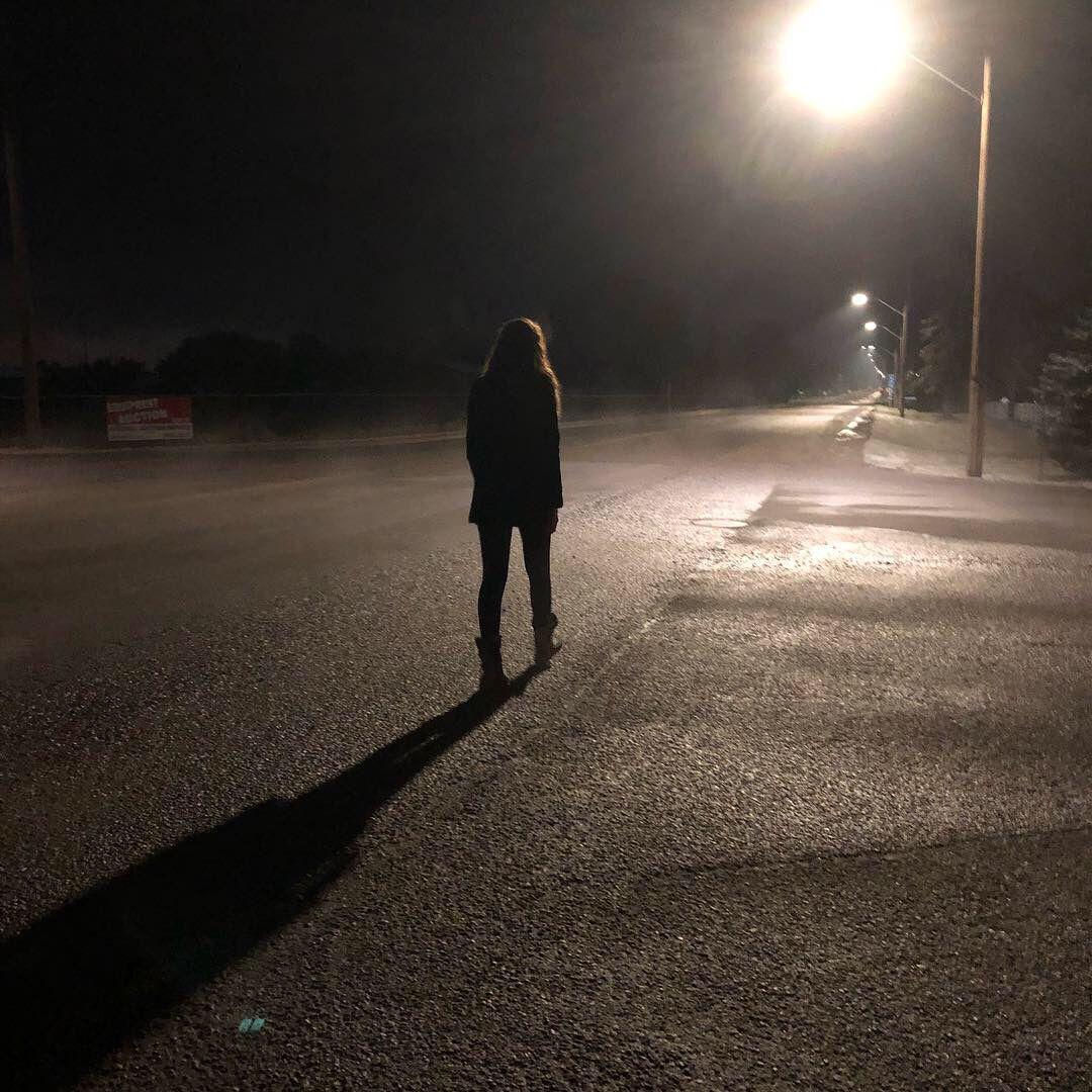 Empty Roads Empty Road Night Walking Instagram