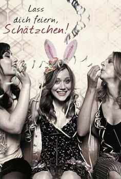 Happy #Birthday Geburtstag Lass Dich feiern, Schätzchen!