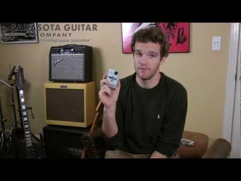 Sarasota Guitar Company Product Feature, Electro Harmonix Freeze