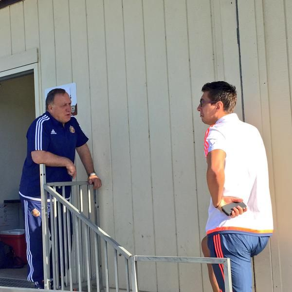 #SAFConTour: The head coach takes to the top stair to catch up with keeper Costel Pantilimon