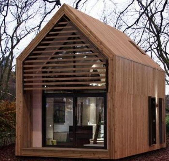 Fertighaeuser Holz Modern: Klein Wonen, Voor Iedereen
