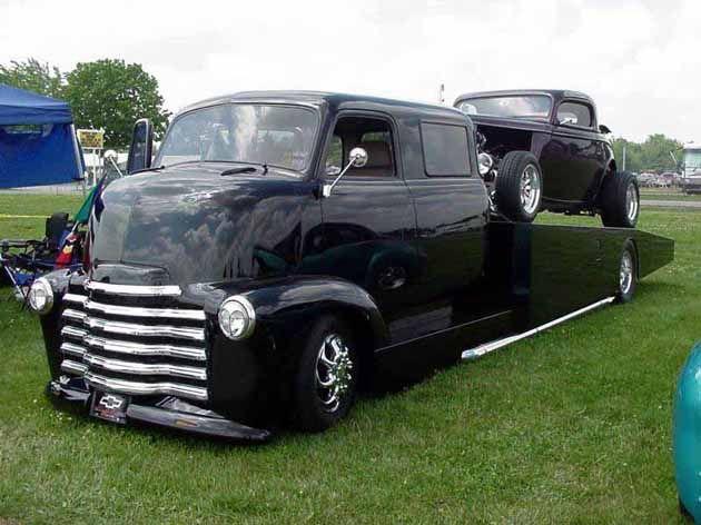 Coe Truck Mon Second Coe Chevy 50 Ramp Truck Xxl Cool Trucks