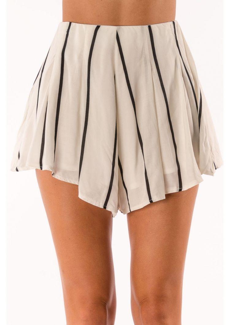 Raspberry Mud Cake Shorts - Mix White $39.95