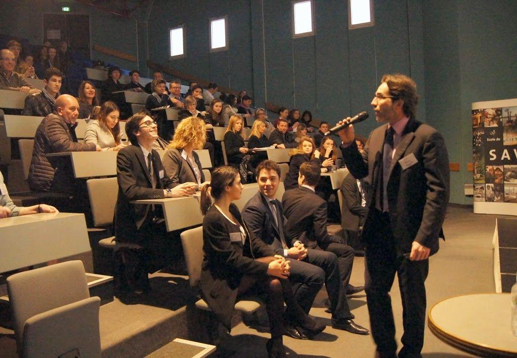 Conférence tenue par M. Richard Ginioux lors de la Journée Portes Ouvertes 2015 à l'Ecole de Savignac