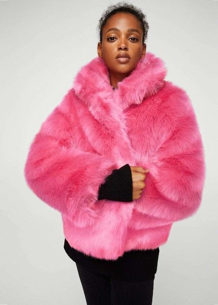 6e2245e1e2c Hot Pink Fur Coat - Crazy Winter Coats You Need to Spice Up Your Wardrobe  This Winter - Photos