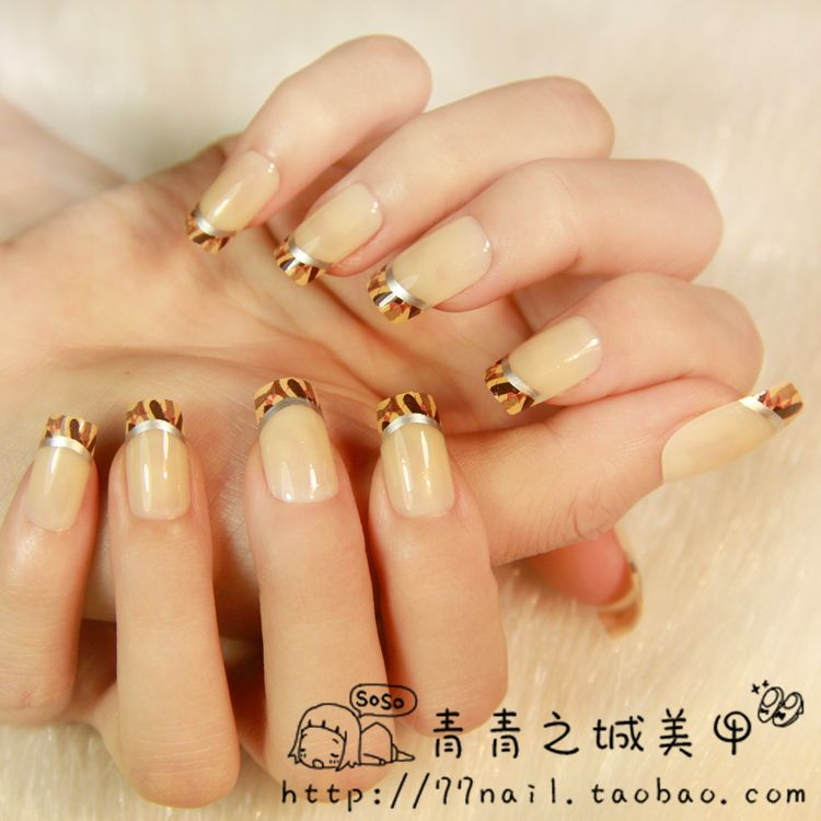 Aliexpress.com : Buy Wholesale price Camouflage pattern French nail ...