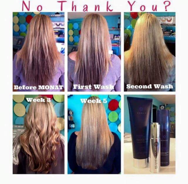 086b539d205 Monat before and after rejuveniqe oil non toxic hair care hair extensions  nope monat