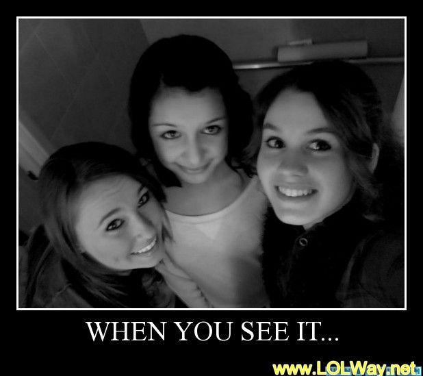 ( 39 scary Photos ) HINT: between the left and middle girl