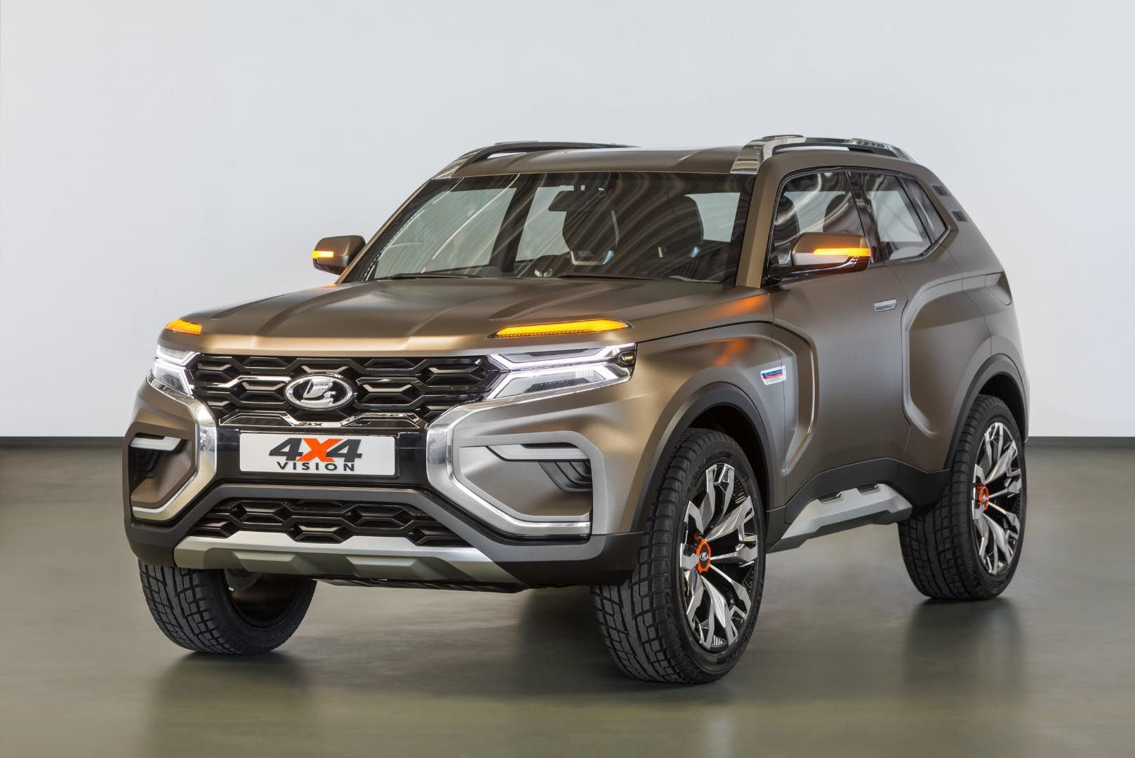 Lada Keeps It Rugged With 4x4 Vision Concept Suv 4x4 Upcoming Cars Niva