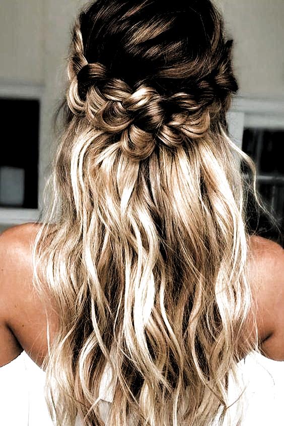 10 simples peinados de graduación para cabello largo y corto Ideas elegantes – …