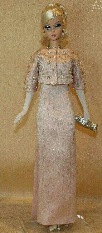 BArbie Silkstone Doll in pink