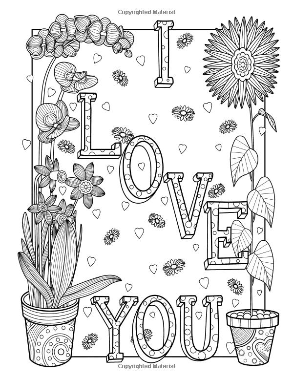 Amazon.com: Adult Coloring Book of Love: A Romantic
