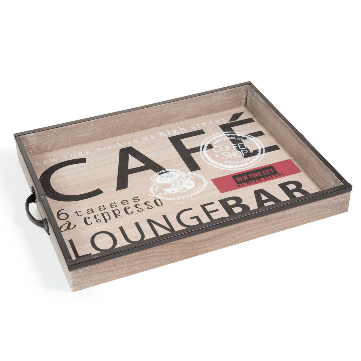 Plateau Cafe Lounge  E Chez Maisons Du Monde