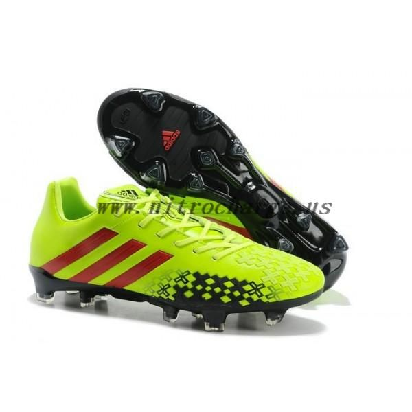 2d1035626 ... usa adidas predator lz ii trx fg men soccer cleats electricity black  vivid red 7b3b8 c6c01