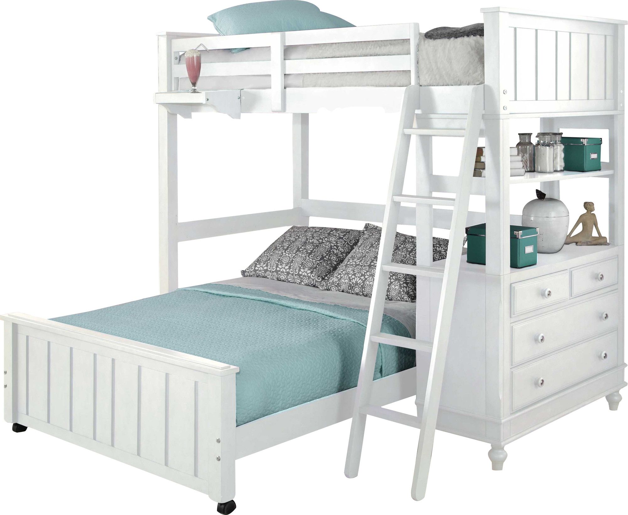Holly Loft With Full Size Lower Bed