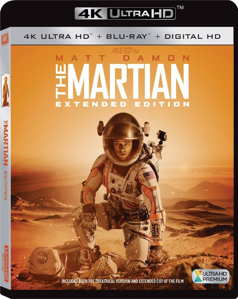 The Martian Extended Edition 2015 4k Ultra Hd Blu Ray With