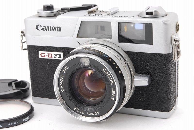 EXC++】Canon Canonet QL-17 G-I...