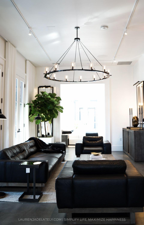 Restoration Hardware Austin Opening Living room designs