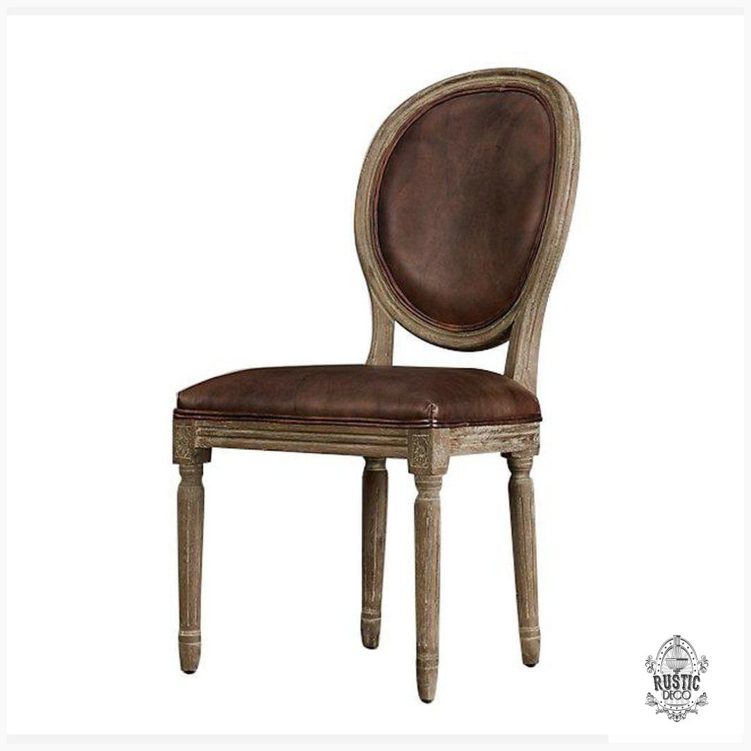 Classic French Empire Style Leather Dining Chair French Country Pair Midcentury Vintageindustri Leather Dining Chairs Dining Chairs Rustic Dining Chairs