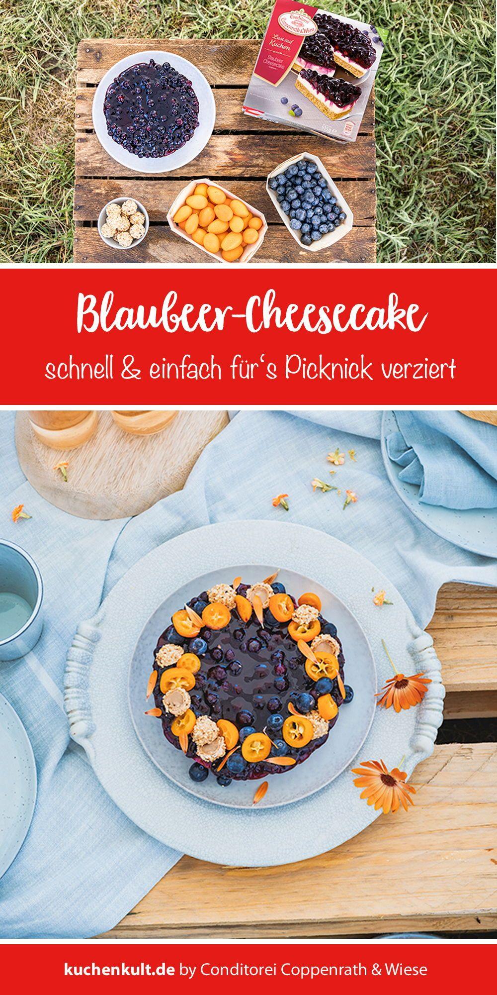 blaubeer-cheesecake im sommerlook! | blaubeer cheesecake