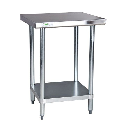Regency Gauge Stainless Steel Commercial Work Table X - Stainless steel table 18 x 24