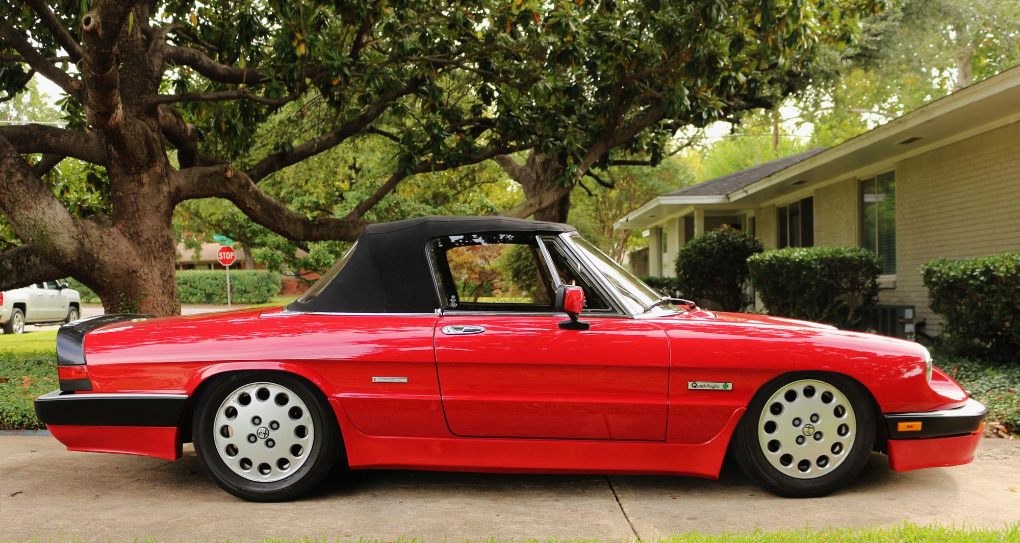 1986 Alfa Romeo Spider Quadrifoglio Alfa Romeo Spider Alfa Romeo Romeo
