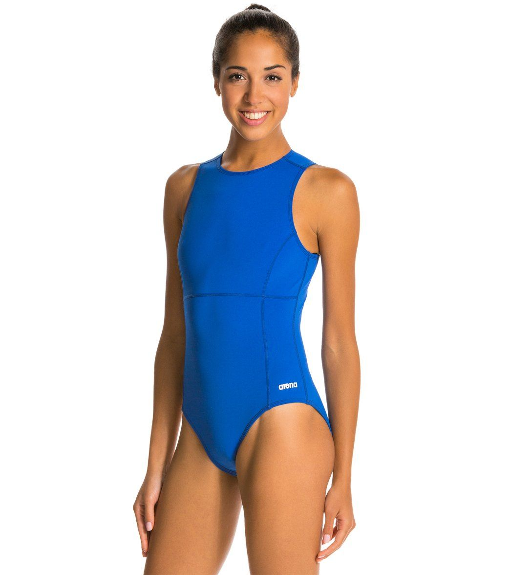 4feb7a1ea0 Arena Waterpolo One Piece Swimsuit at SwimOutlet.com - The Web s most  popular swim shop