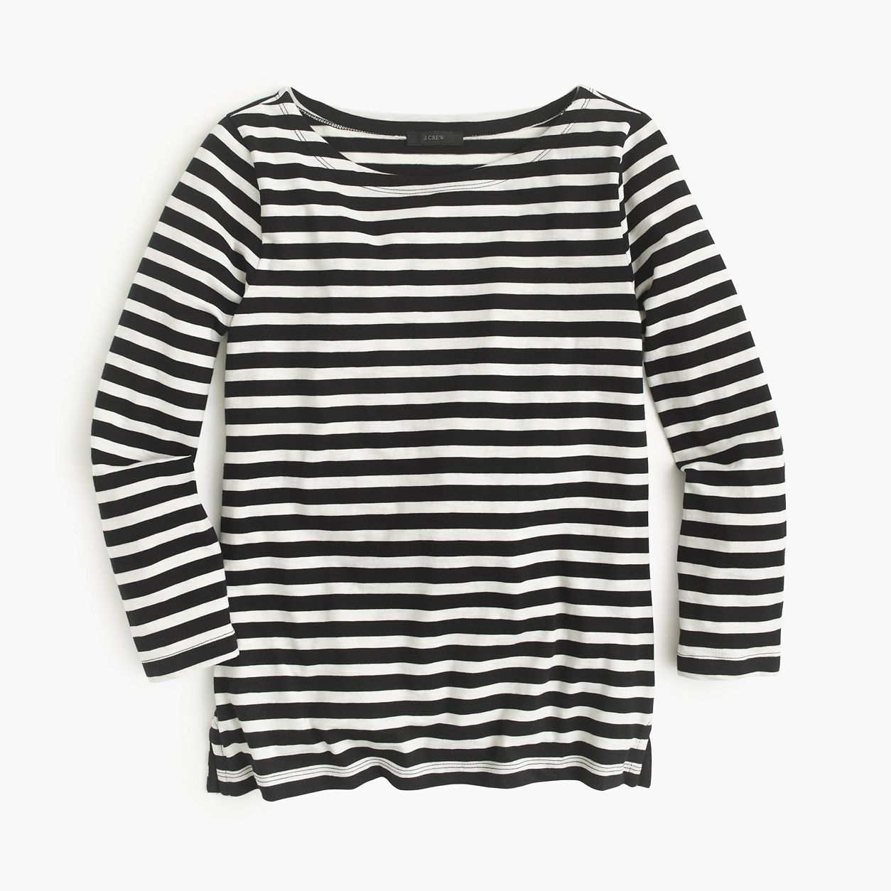cea69c88c16e2b J.Crew Womens Striped Boatneck T-Shirt (Size   Products   How to ...