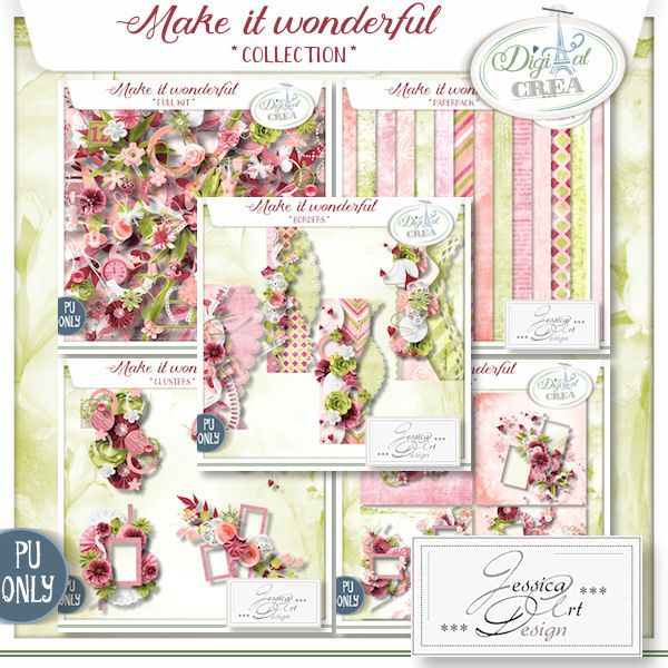Make it wonderful collection by Jessica art-design