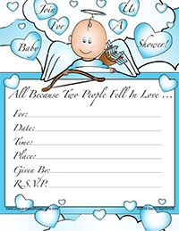 Get Free Template Printable Baby Shower Invitation For Boys Baby