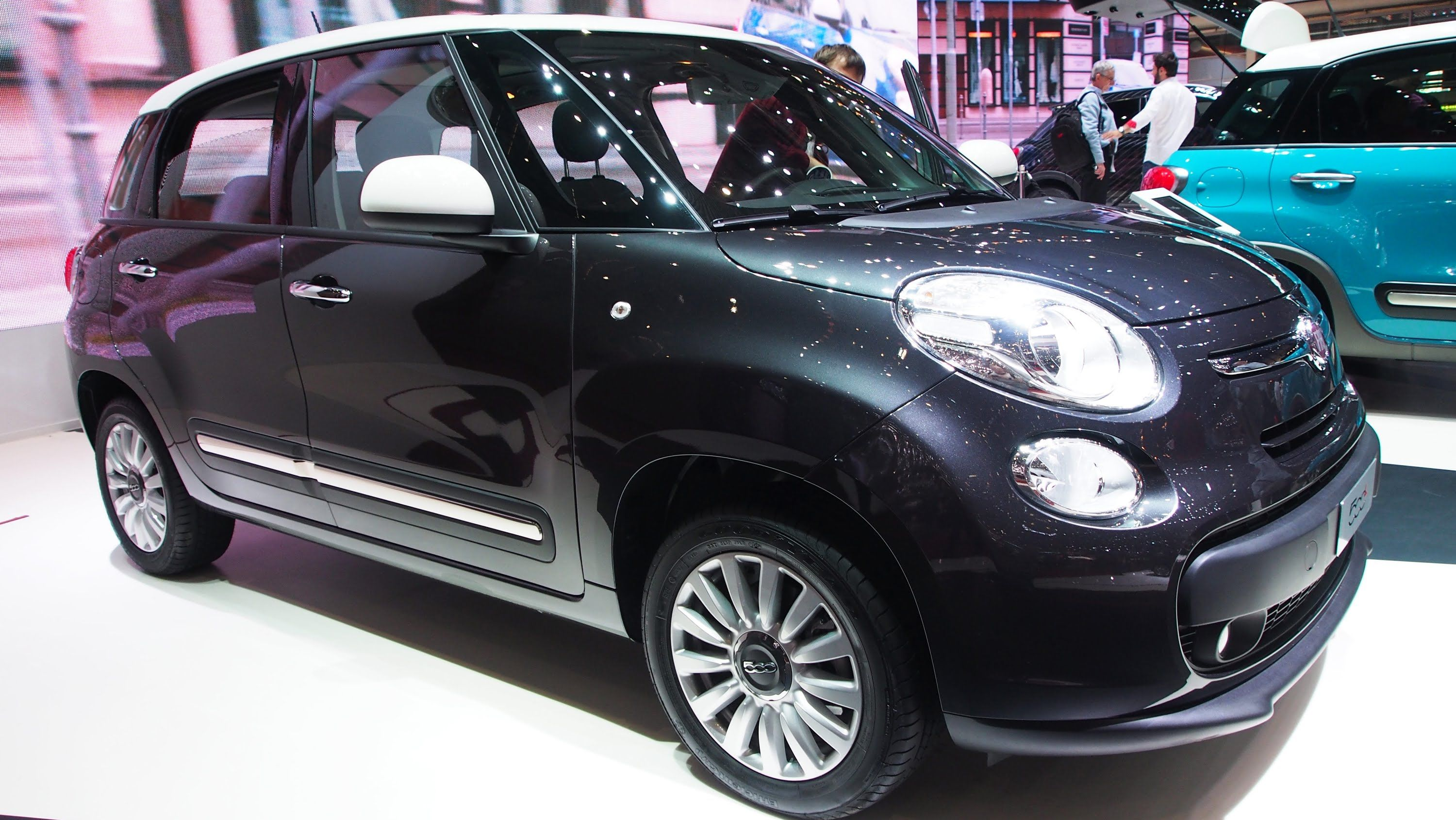 2015 Fiat 500l 0 9 Twinair 105 Cv Pop Star Exterior And Interior