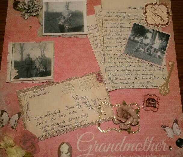 "12x12 layout with ""generations"" paper pad by KaiserCraft"