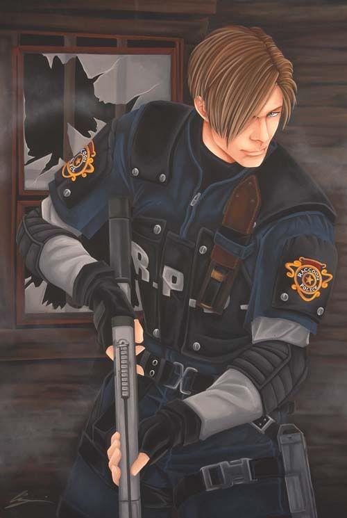 Leon S Kennedy Re4 Resident Evil Apocalipse Zumbi Imagens