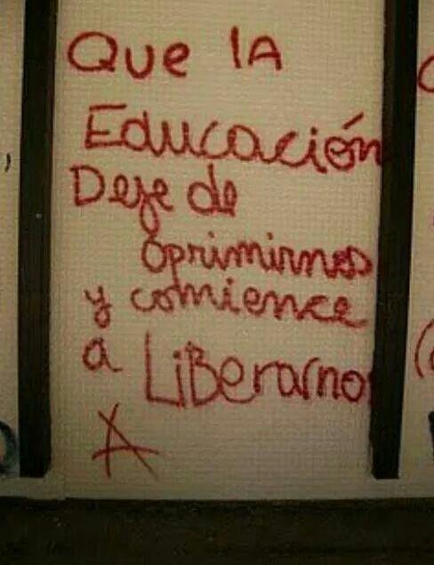 Educacion Frases Anarquistas Arte De Protesta Y Citas De Arte