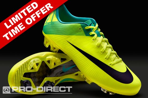 purchase cheap 26a4d a7037 Nike Football Boots - Nike Mercurial Vapor Superfly III FG - Firm Ground -  Soccer Cleats - Volt-Imperial Purple-Retro