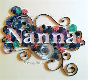 Quilling Names - Bing images