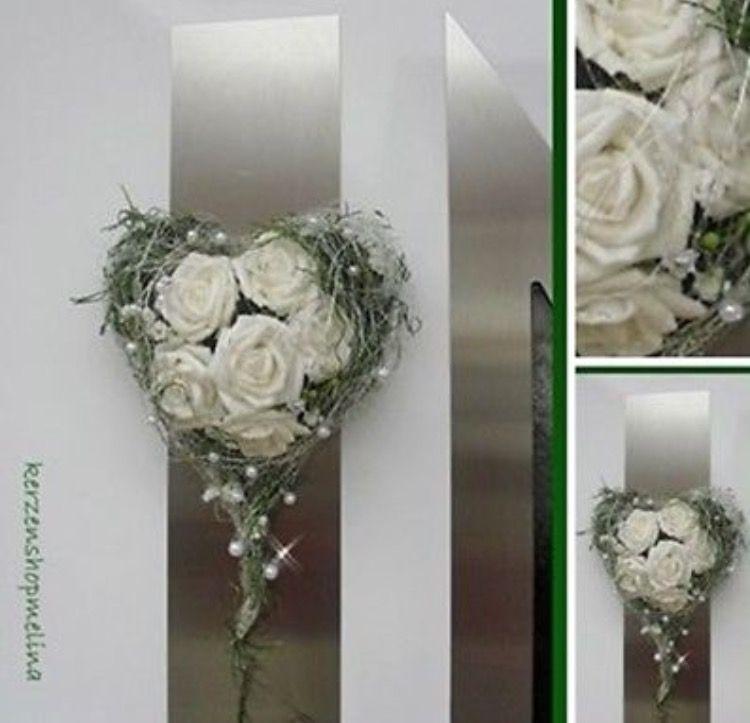 Turkranz Turherz Taufe Kommunion Hochzeit Geburtstag Tischdeko