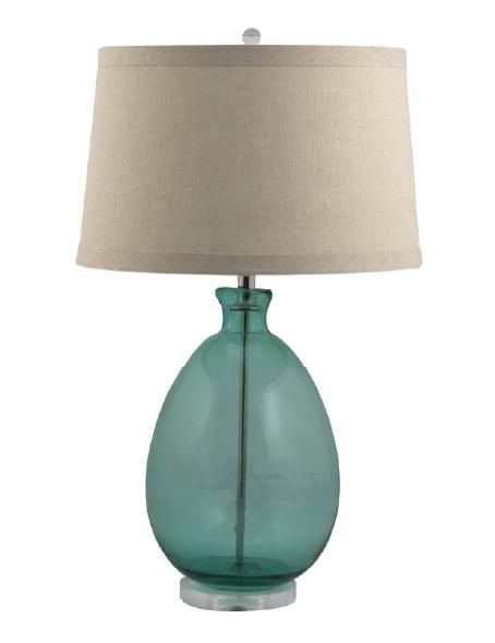 Charming Sea Glass Lamp   Google Search