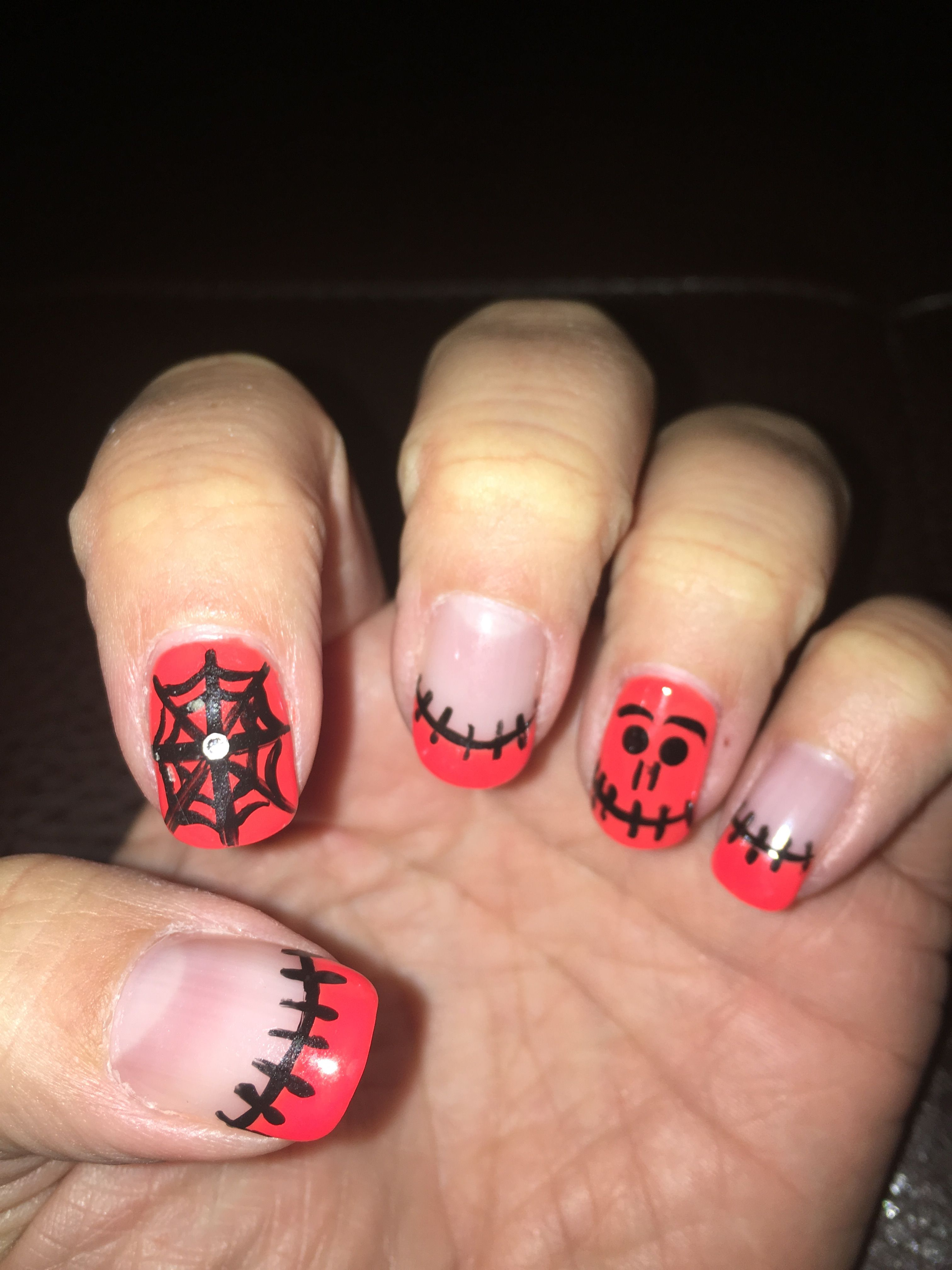 Halloween nails | Halloween nails, Nails, Beauty