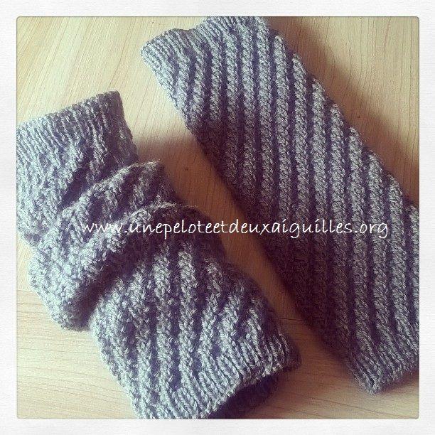 tricoter des guetres