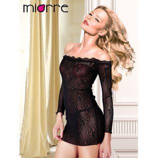 Miorre Dantel Gecelik String Takim Giyim Alisveris Indirim Trendylodi Bayangiyim Fashion Moda Style Ba Gecelikler Mini Elbiseler Siyah Kisa Elbise