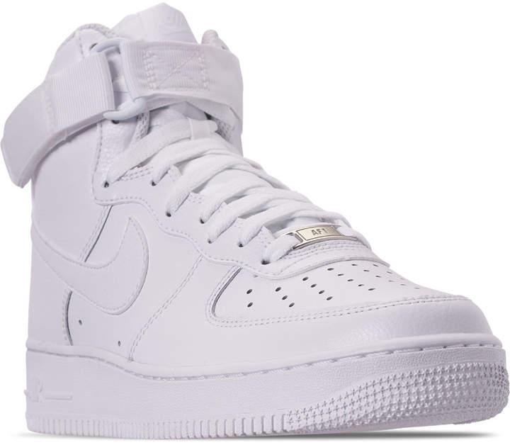 tenis nike air force 1 nba piel blanco